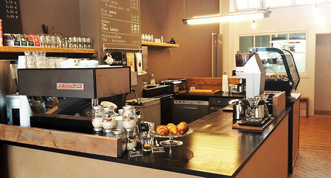 Café in Düsseldorf Flingern